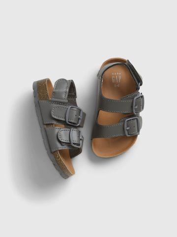 סנדלים עם רצועות דמוי עור / 3M-12M של GAP