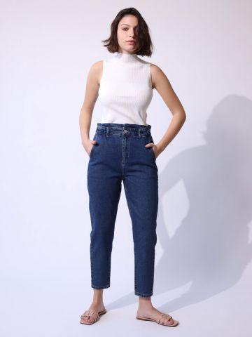 ג'ינס קרופ בגזרה ישרה Lotus של YANGA