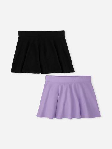 מארז 2 חצאיות בצבעים שונים / בנות של THE CHILDREN'S PLACE