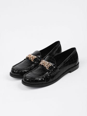 נעלי מוקסין דמוי עור קרוקודיל / נשים של STEVE MADDEN