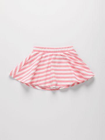 חצאית מכנס בהדפס פסים / 9M-4Y של THE CHILDREN'S PLACE