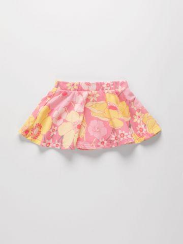 חצאית מכנס בהדפס פרחים / 9M-4Y של THE CHILDREN'S PLACE