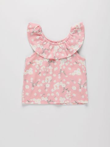 חולצה בהדפס פרחים / 9M-4Y של THE CHILDREN'S PLACE