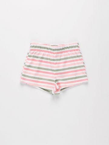 מכנסיים קצרים בהדפס פסים / 9M-4Y של THE CHILDREN'S PLACE