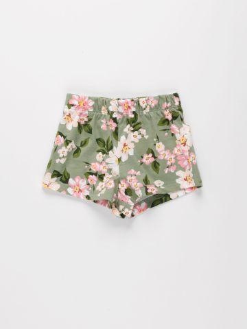 מכנסיים קצרים בהדפס פרחים / 9M-4Y של THE CHILDREN'S PLACE