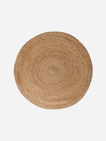 שטיח חבלים עגול 100 ס״מ של ASHRAM