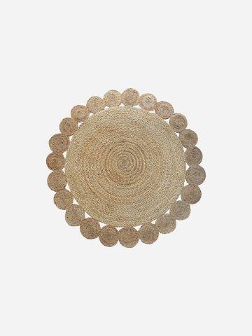 שטיח עגול בסגנון חבלים ריו / 120 של ASHRAM