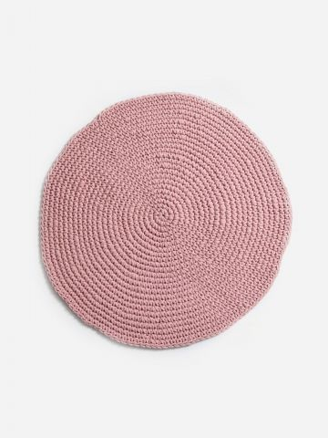 שטיח ניתאי עגול 120 ס״מ של ASHRAM