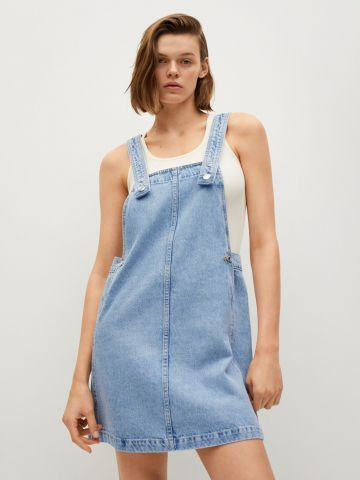 שמלת סרפן ג'ינס של MANGO