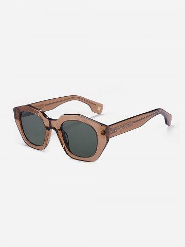משקפי שמש משושים עם מסגרת מנומרת / נשים של XRAY