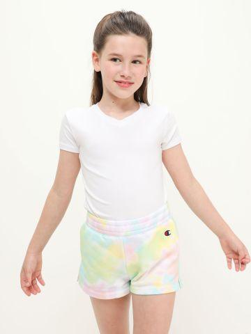 מכנסיים קצרים טאי דאי עם רקמת לוגו של CHAMPION