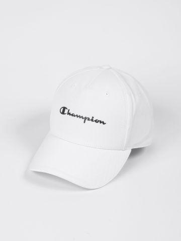 כובע מצחיה בשילוב הדפס מותג / גברים של CHAMPION