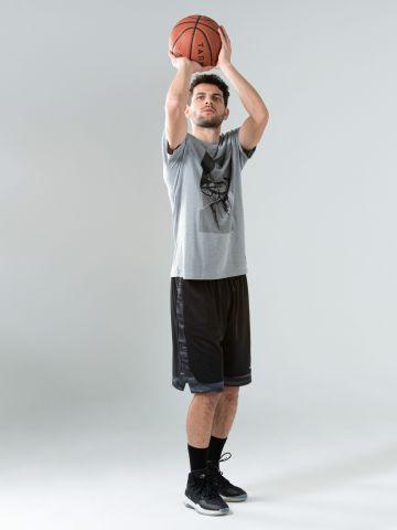 חולצת טי שירט לכדורסל TS500 של DECATHLON