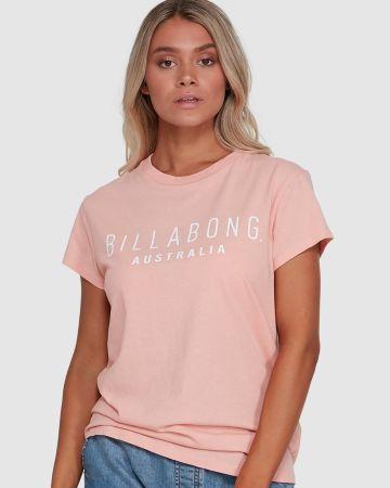 טי שירט עם כיתוב לוגו של BILLABONG