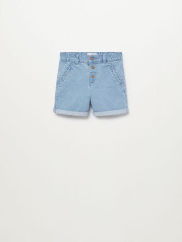 מכנסי ג'ינס ברמודה / 9M-4Y של MANGO