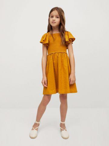 שמלה עם כיווצים / בנות של MANGO