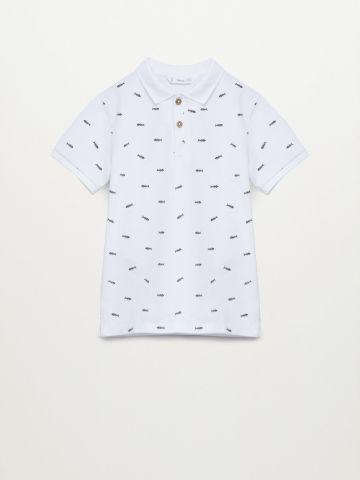 חולצת פולו בהדפס / בנים של MANGO