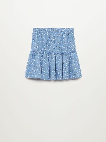 חצאית בהדפס פרחים / בנות של MANGO