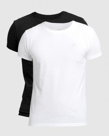 מארז 2 חולצות עם לוגו / גברים של GANT