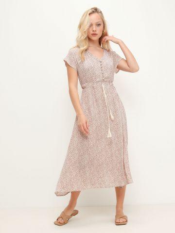 שמלת מידי בהדפס של YANGA
