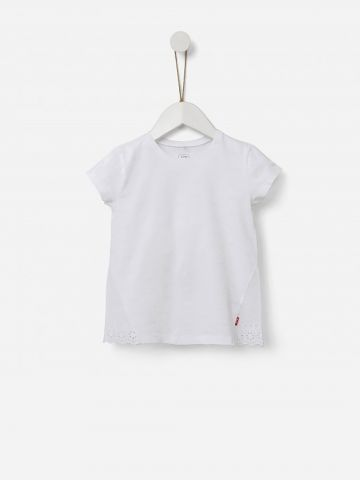 חולצה חגיגית עם עיטור תחרה / 3M-5Y של SHILAV
