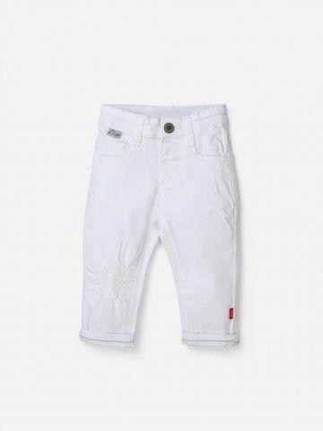 ג'ינס ארוך עם קרע / 0-24M של SHILAV