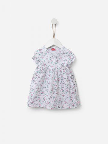 שמלת מעטפת בהדפס פרחים / 0M-24M של SHILAV
