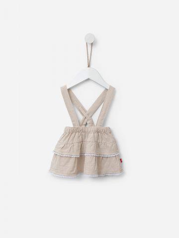 חצאית קומות עם רצועות שלייקס / 3M-24M של SHILAV
