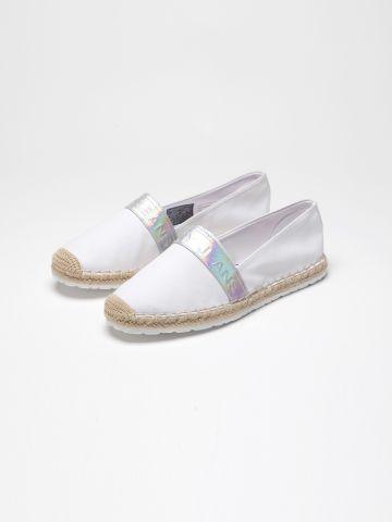 נעלי מוקסין עם פאץ' לוגו / נשים של TOMMY HILFIGER