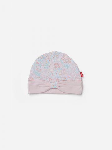 כובע בהדפס פרחים / 0M-3M של SHILAV