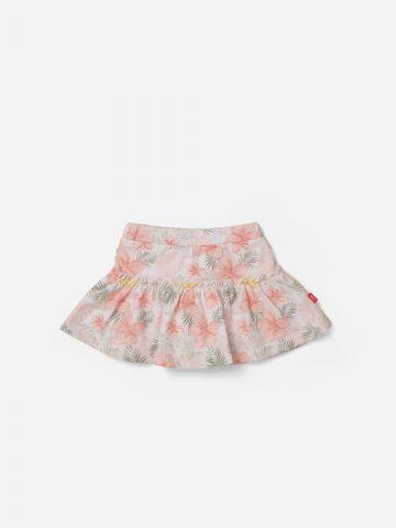 מכנסי חצאית בהדפס פרחים / 0-3Y של SHILAV