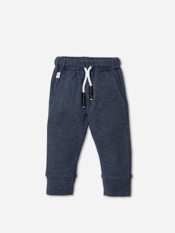 מכנסיים ארוכים בטקסטורה עם כיסים / 3M-5Y של SHILAV