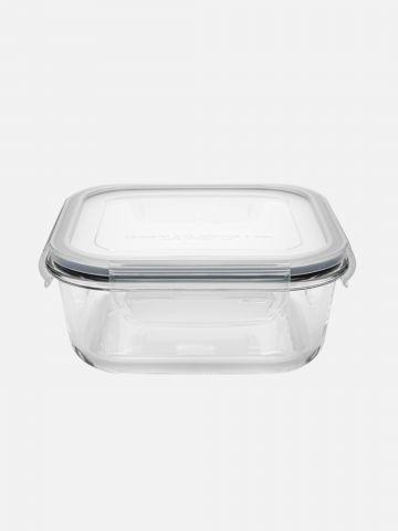 """קופסת זכוכית עם מכסה 1100 מ""""ל של FOX HOME"""