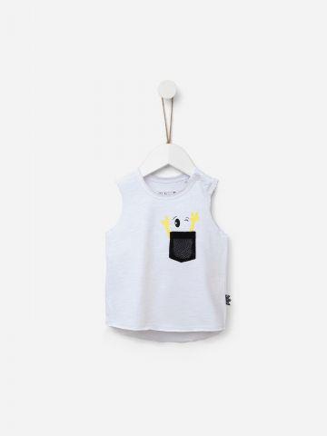 חולצת טי שירט ללא שרוול / 12M-5Y של SHILAV