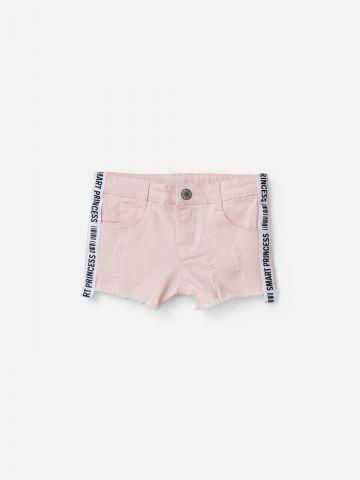 ג'ינס קצר עם סטריפים / 3M-5Y של SHILAV