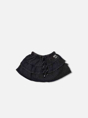 חצאית בסגנון ג'ינס / 6M-5Y של SHILAV