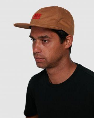 כובע מצחייה עם פאץ' לוגו / גברים של RVCA