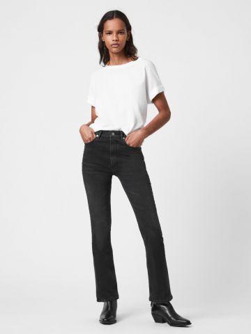 מכנסי ג'ינס עם סיומת מתרחבת של ALL SAINTS