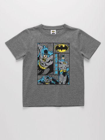 טי שירט עם הדפס באטמן של THE CHILDREN'S PLACE