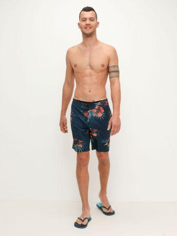 מכנסי בגד ים בהדפס פרחים של BILLABONG