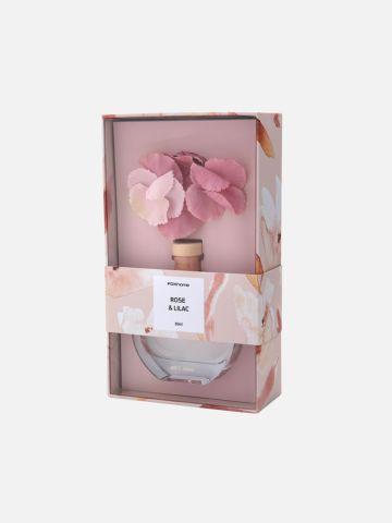 דפיוזר פרחים בבקבוק זכוכית של FOX HOME