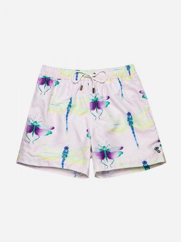 מכנסי בגד ים בהדפס שפיריות / גברים של EL CAPITAN