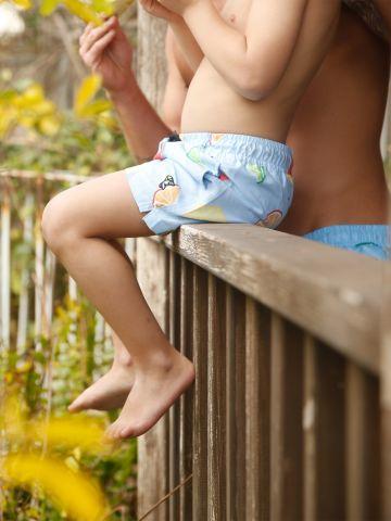 מכנסי בגד ים בהדפס פירות / בנים של EL CAPITAN