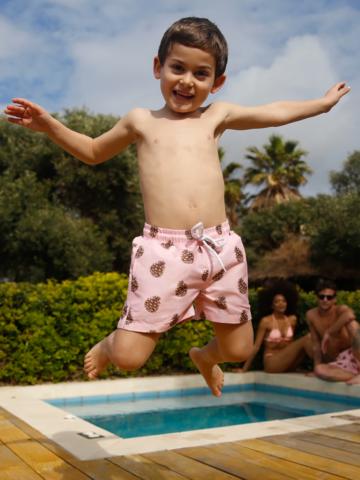 מכנסי בגד ים בהדפס איצטרובלים / בנים של EL CAPITAN