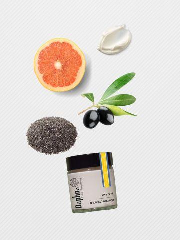 קרם הזנה זרעי ציה Chia Seed Face Moisturizers של DAPHNE