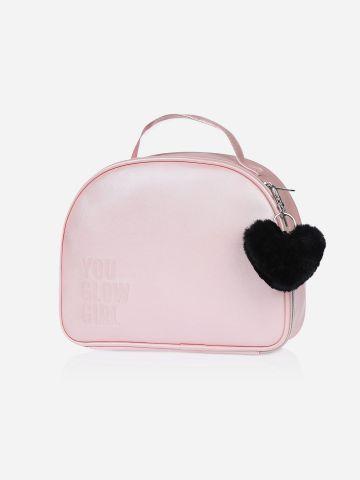 תיק מזוודה פונפון / Laline Girls של LALINE