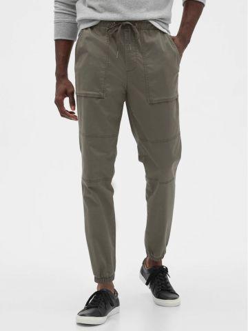 מכנסיים ארוכים עם גומי של GAP
