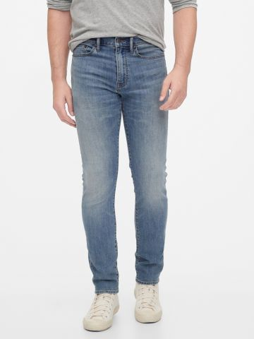 ג'ינס סקיני בצביעת ווש של GAP