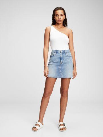 חצאית ג'ינס עם כיסים של GAP