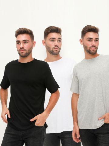מארז 3 חולצות טי שירט של TERMINAL X